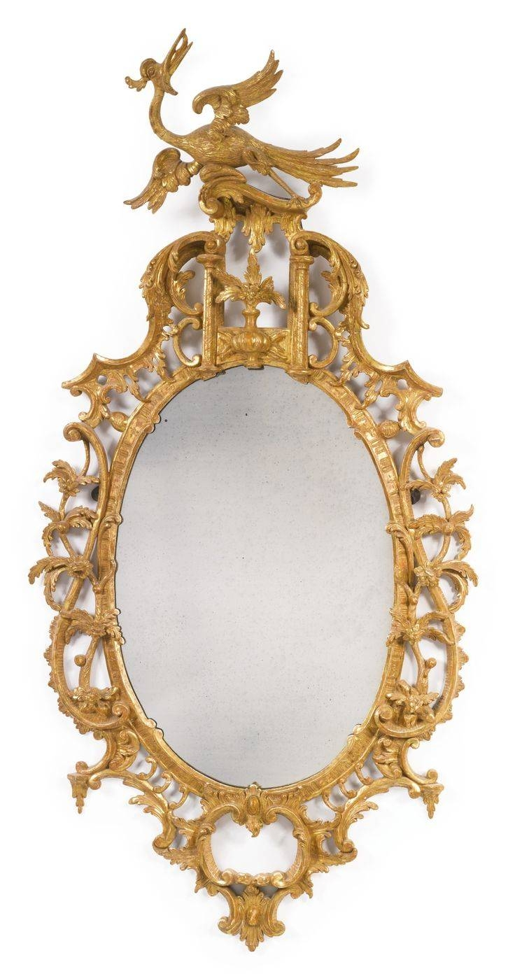 163 Best Mirrors Images On Pinterest | Mirror Mirror, Antique Throughout Antique Mirrors (View 17 of 25)