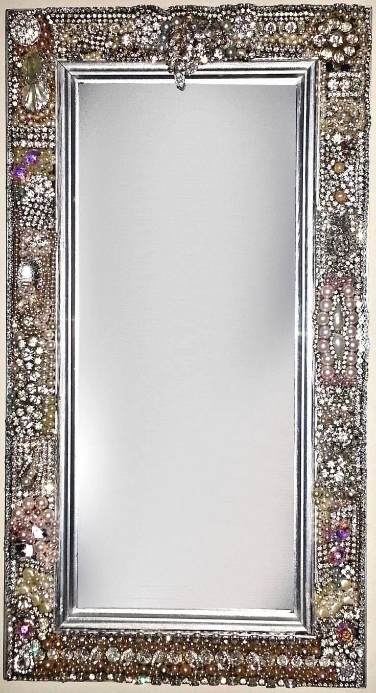 167 Best Bling!!! Images On Pinterest | Sparkles Glitter, Bling throughout Silver Glitter Mirrors (Image 1 of 25)