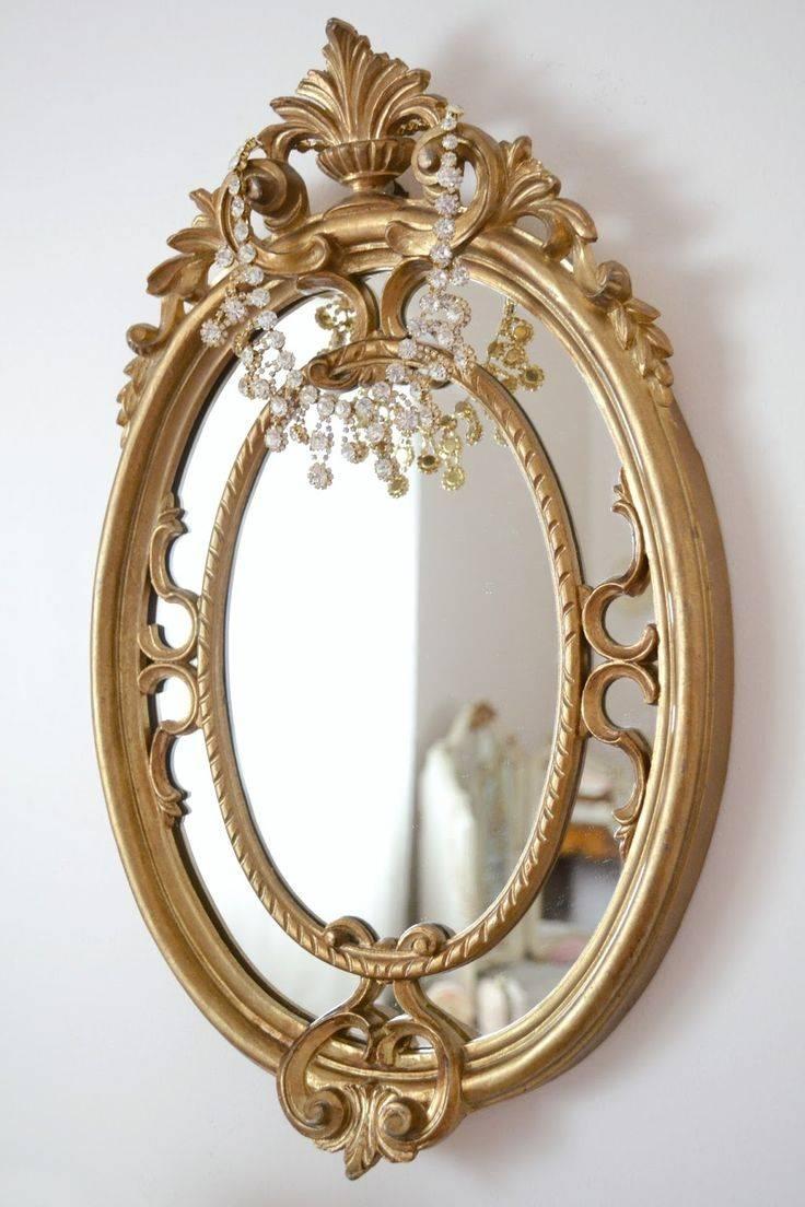 167 Best Mirror Mirror Images On Pinterest | Mirror Mirror, Mirror Regarding Small Gold Mirrors (View 1 of 25)