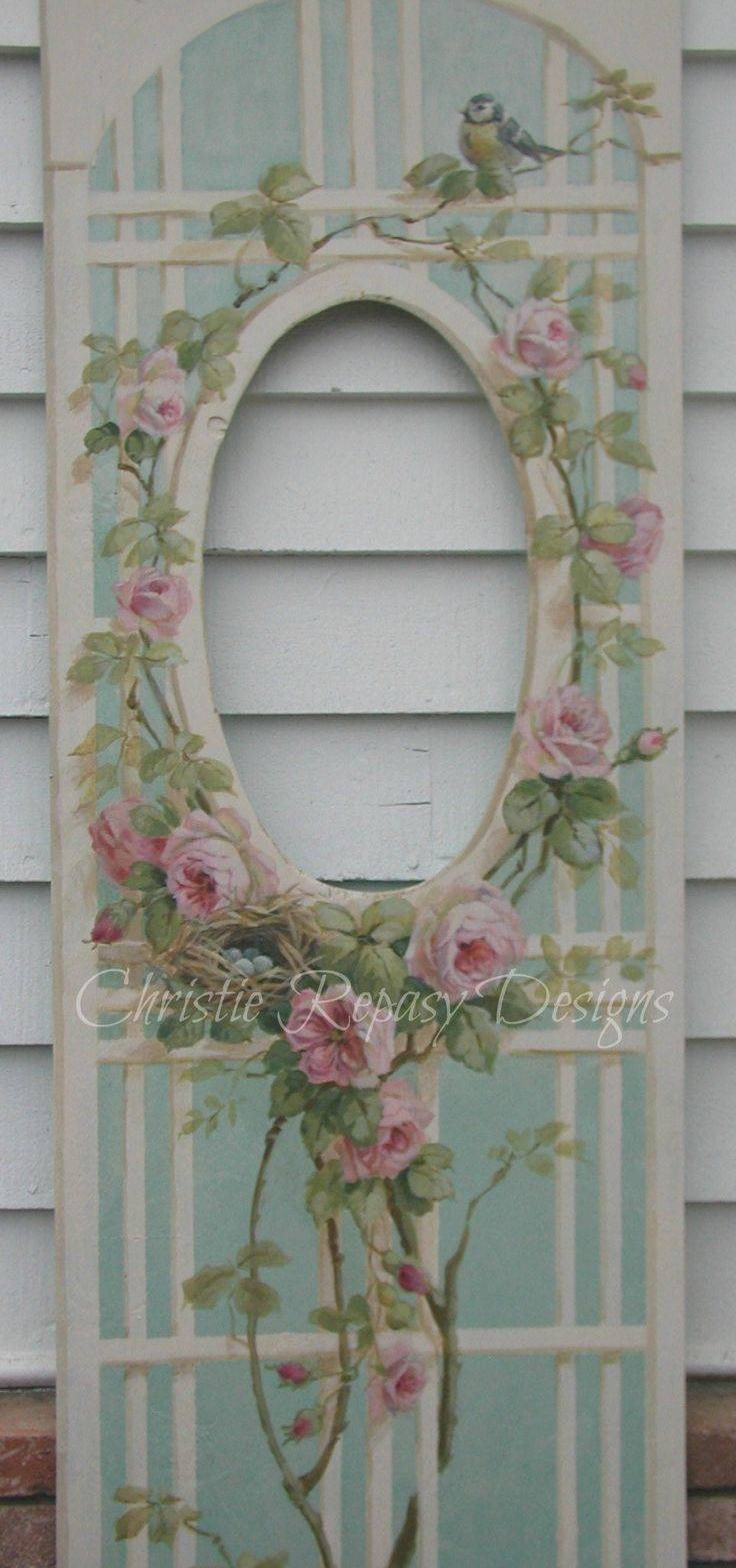 1676 Best Shabby Chic & Vintage Accessories Images On Pinterest pertaining to Vintage Shabby Chic Mirrors (Image 2 of 25)