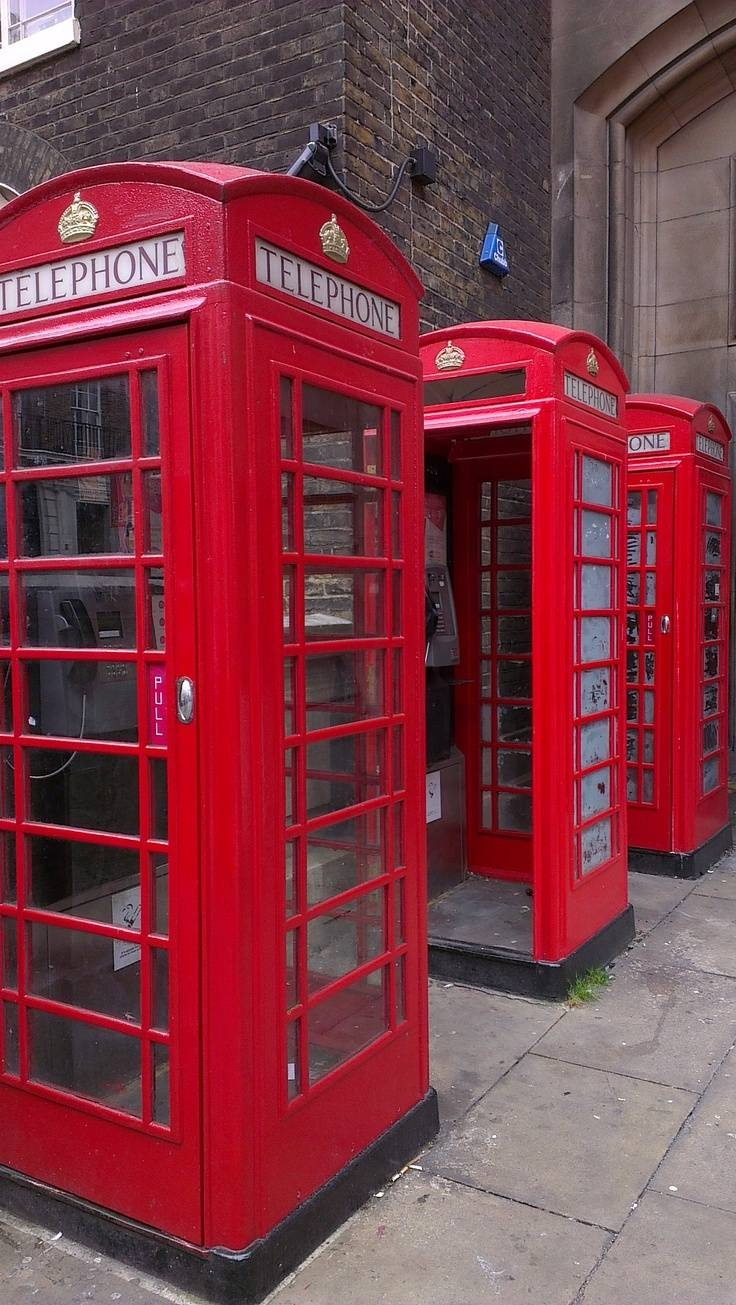 1685 Best Red Telephone Boxes Images On Pinterest | Telephone in Telephone Box Wardrobes (Image 1 of 15)