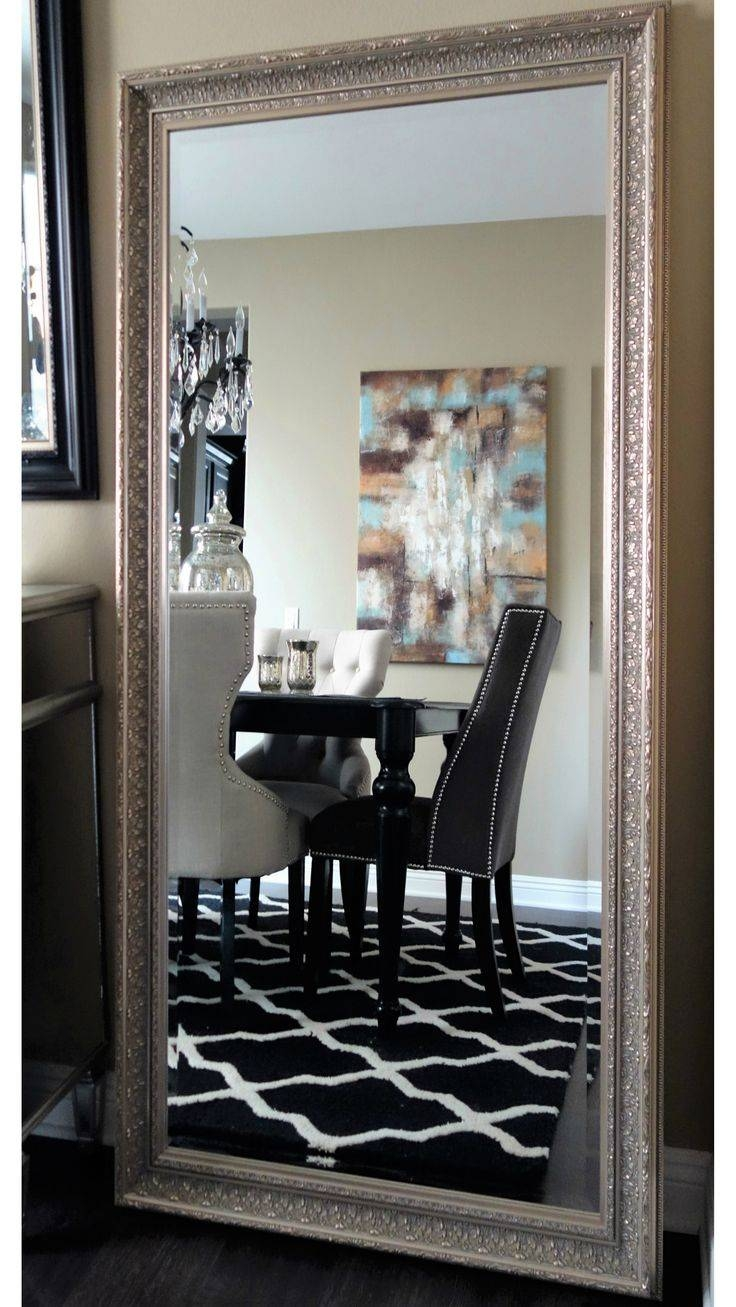 17 Best Floor Mirrors Images On Pinterest | Floor Mirrors, Wall within Champagne Mirrors (Image 2 of 25)