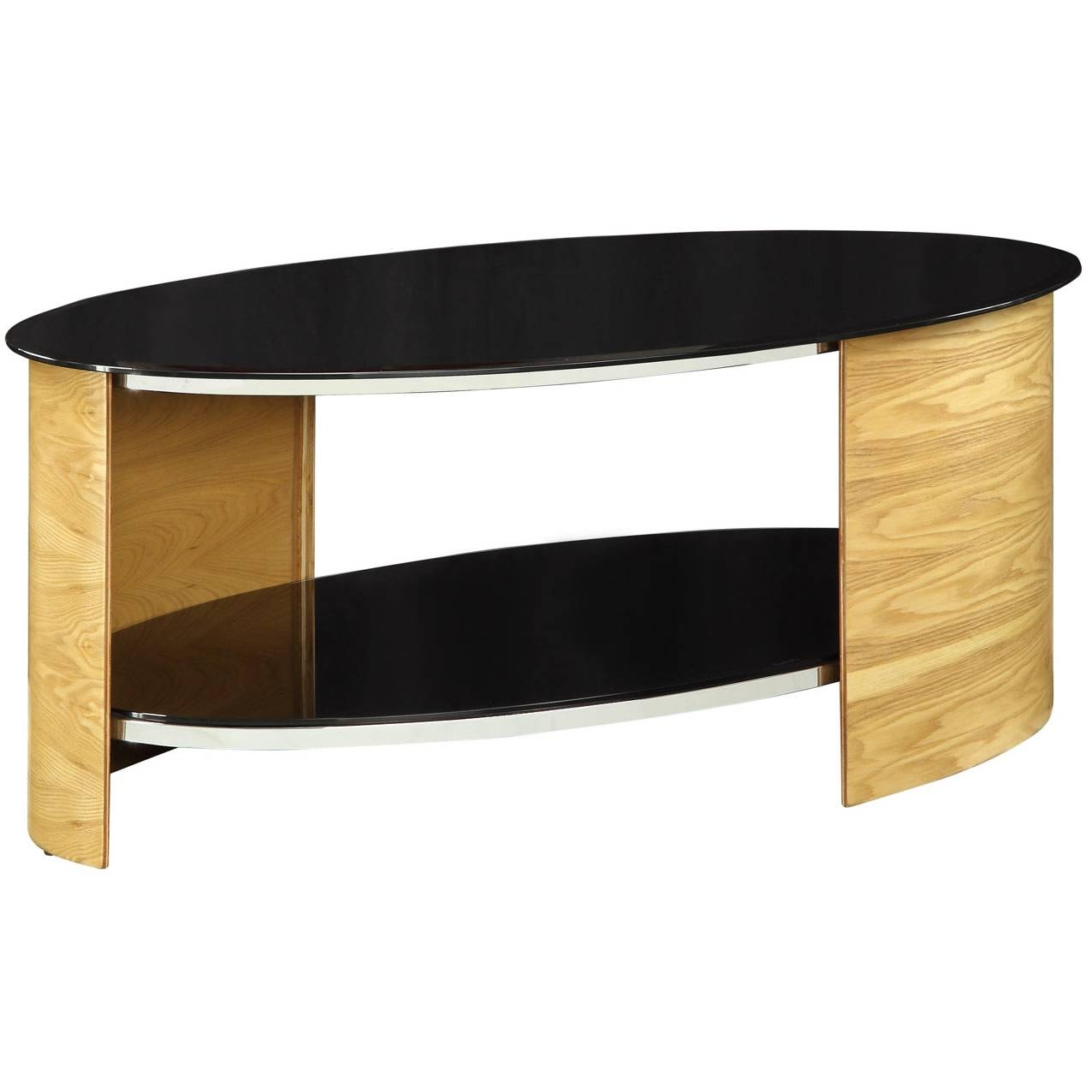 17 Ways To Have A Stunning Look Of Oval Glass Coffee Table From inside Oval Black Glass Coffee Tables (Image 2 of 30)
