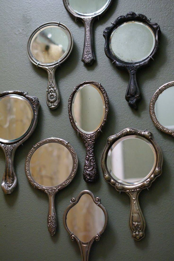 173 Best Mirrors, Wall Decor, Shelves Images On Pinterest | Mirror throughout Antique Mirrors Vintage Mirrors (Image 1 of 25)
