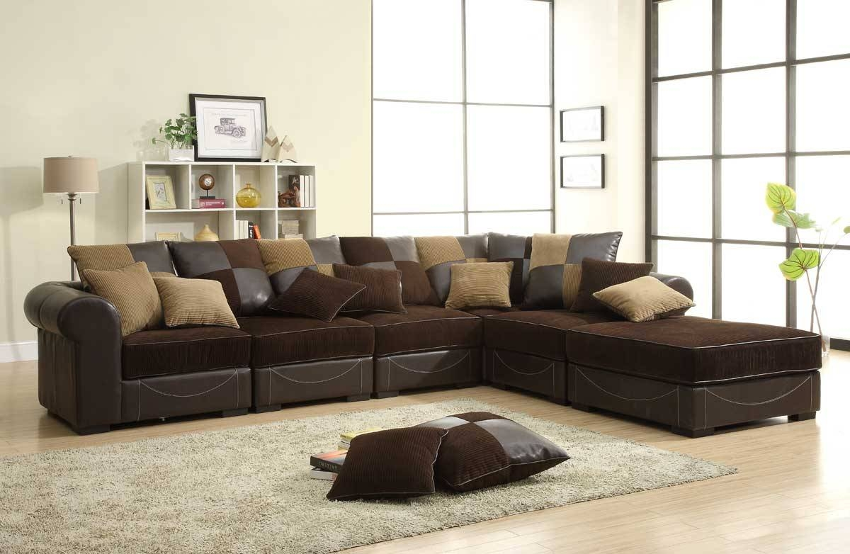 18 Chocolate Brown Sectional Sofa | Carehouse throughout Chocolate Brown Sectional Sofa (Image 3 of 30)