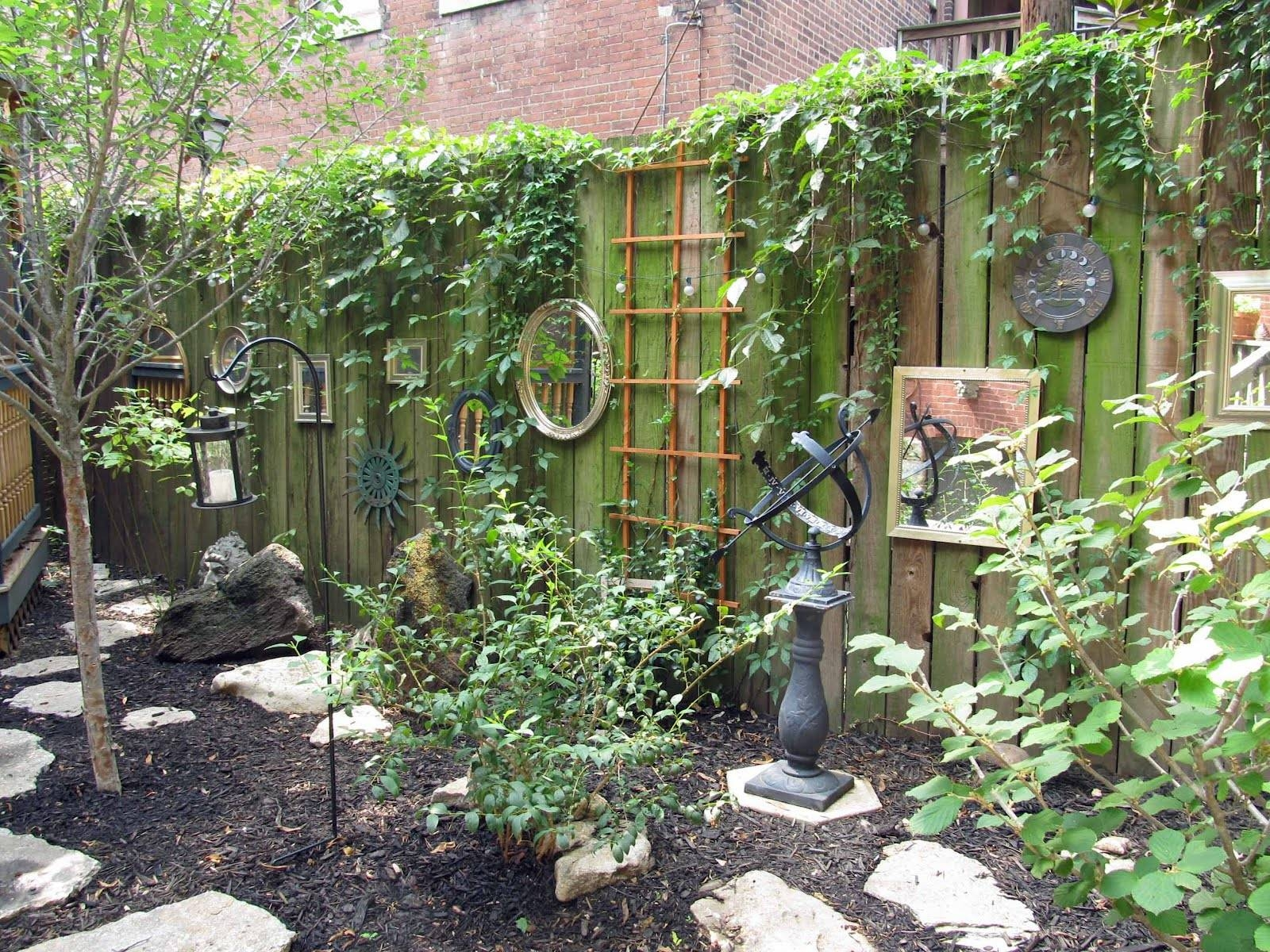 18 Dazzling Mirror Ideas For Your Garden - Garden Lovers Club with Garden Wall Mirrors (Image 4 of 25)
