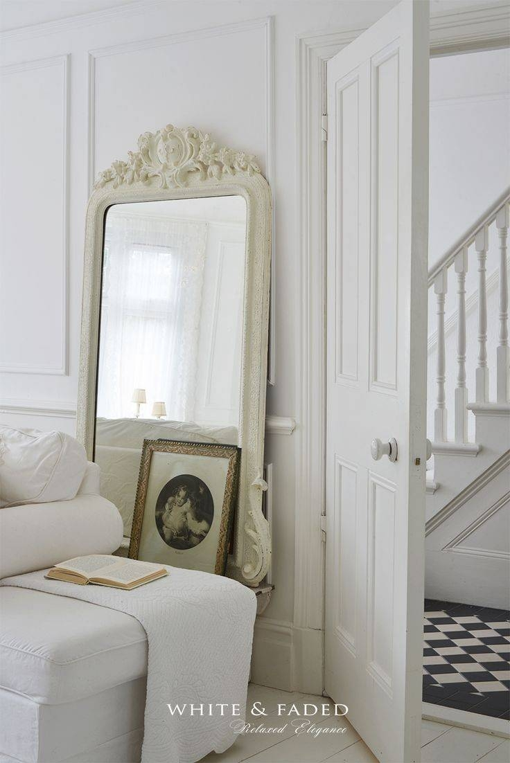 1898 Best French Shabby Chic, Vintage And Country Style Images On with regard to White French Mirrors (Image 11 of 25)