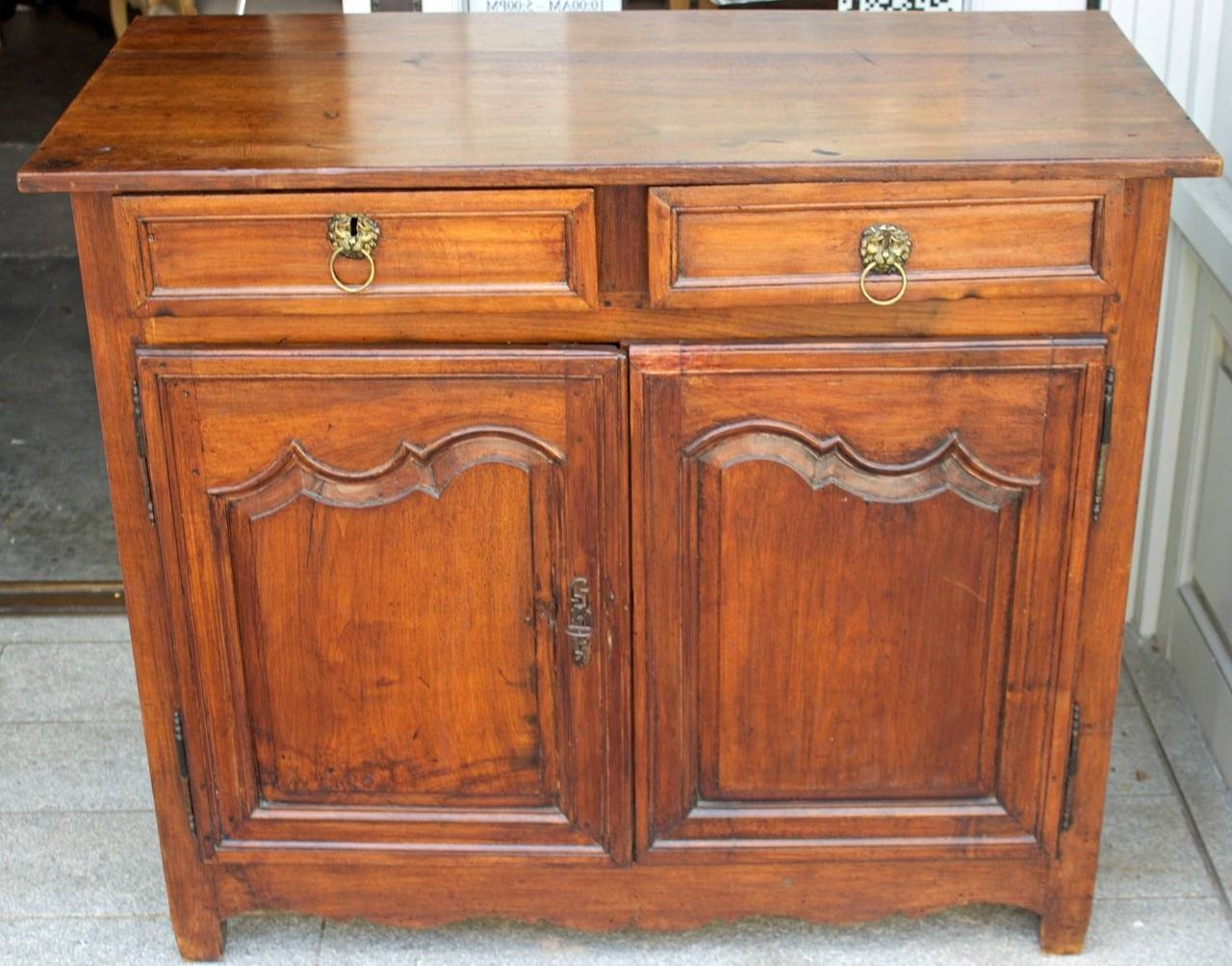 18Th Century French Country Louis Xiv Walnut Buffet Or Sideboard with French Country Sideboards (Image 3 of 30)
