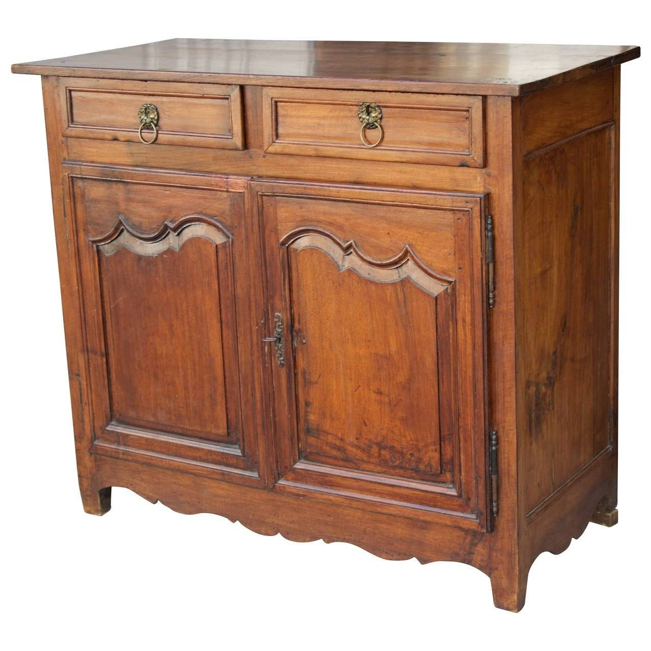 18Th Century French Country Louis Xiv Walnut Buffet Or Sideboard with French Country Sideboards (Image 2 of 30)