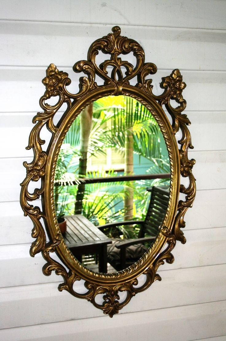 19 Best The Vintage Valet: Mirrors & Picture Frames Images On intended for Ivory Ornate Mirrors (Image 3 of 25)