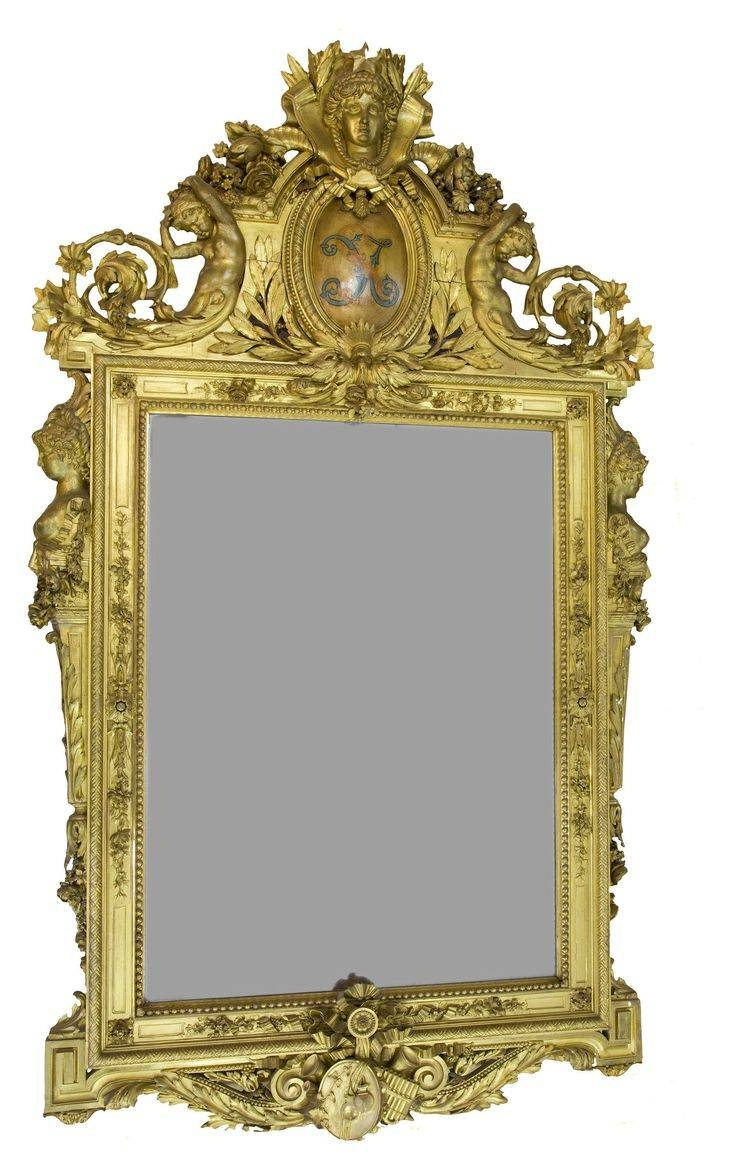 190 Best Mirrors Images On Pinterest | Mirror Mirror, Antique For Antique Mirrors (View 12 of 25)