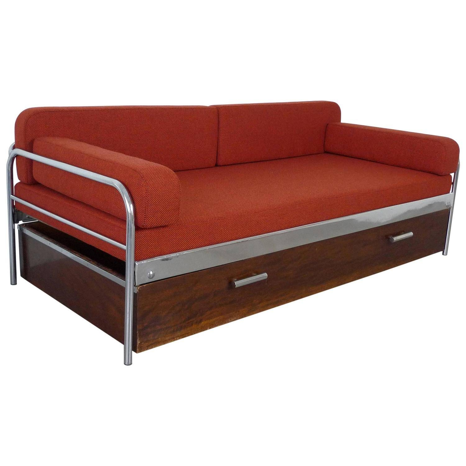1930S Bauhaus Steel Tube Sofa Bedmücke And Melder intended for 1930S Couch (Image 1 of 30)