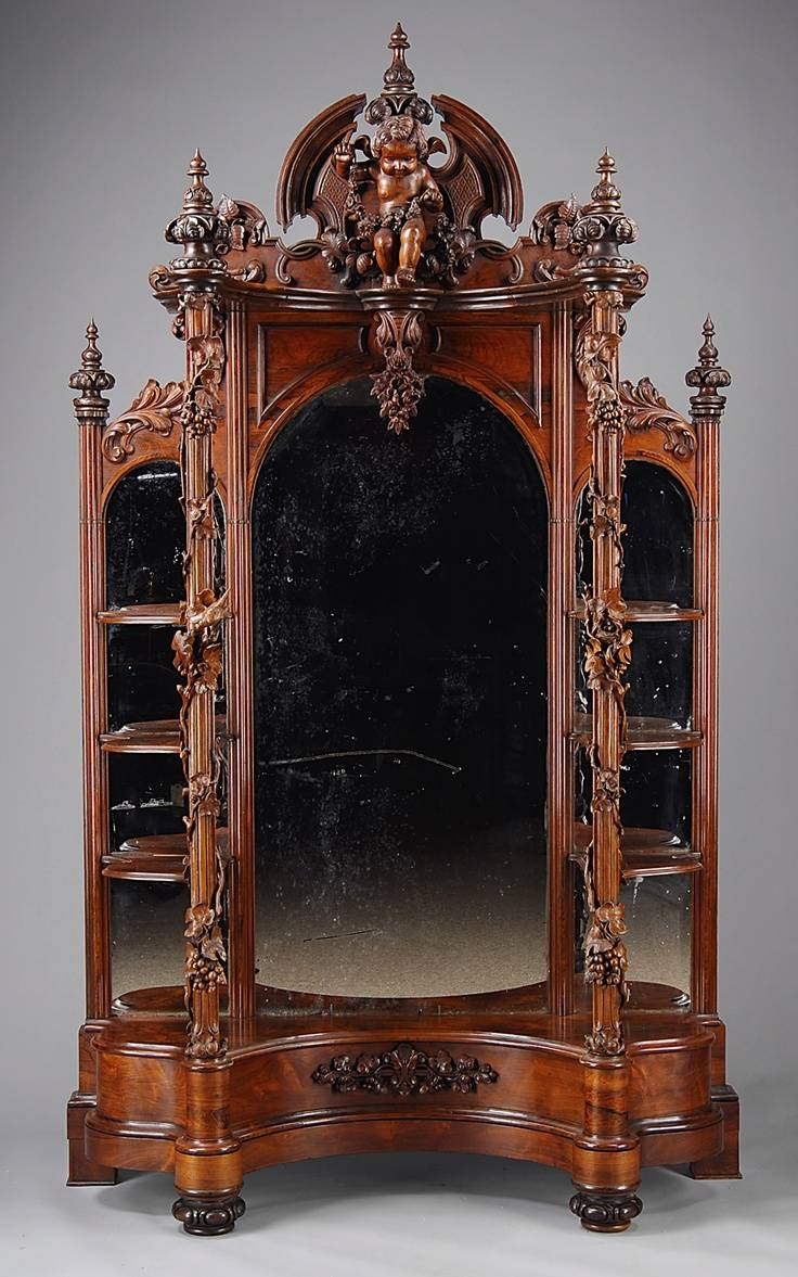 197 Best Furniture Images On Pinterest | Antique Furniture for Victorian Full Length Mirrors (Image 1 of 25)