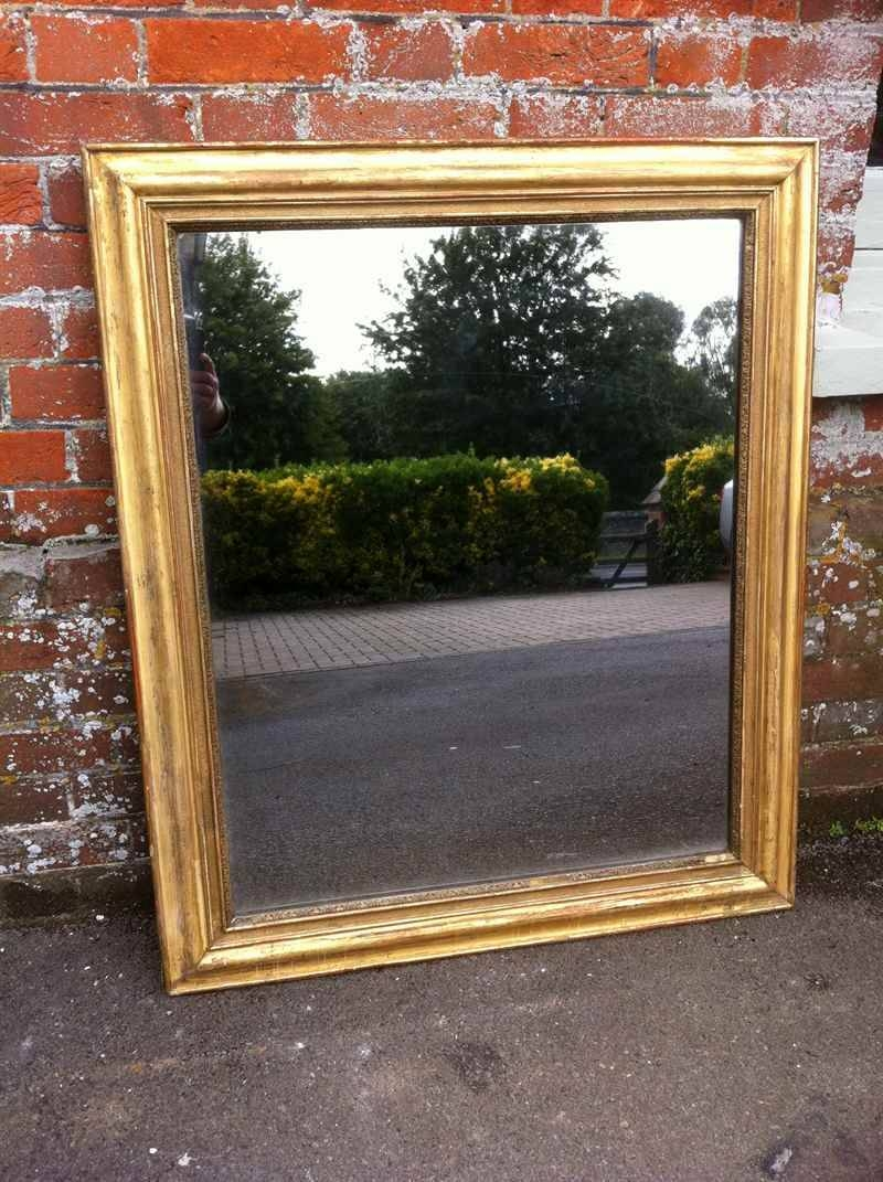 19Th Century French Gilt Mirror - Antique All Our Antique Mirrors regarding Gilt Mirrors (Image 3 of 25)
