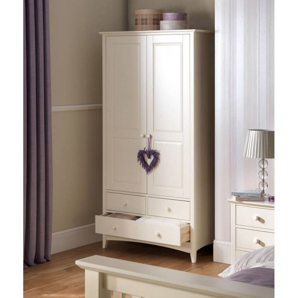 2 Door Combination Wardrobe throughout Cameo 2 Door Wardrobes (Image 2 of 15)
