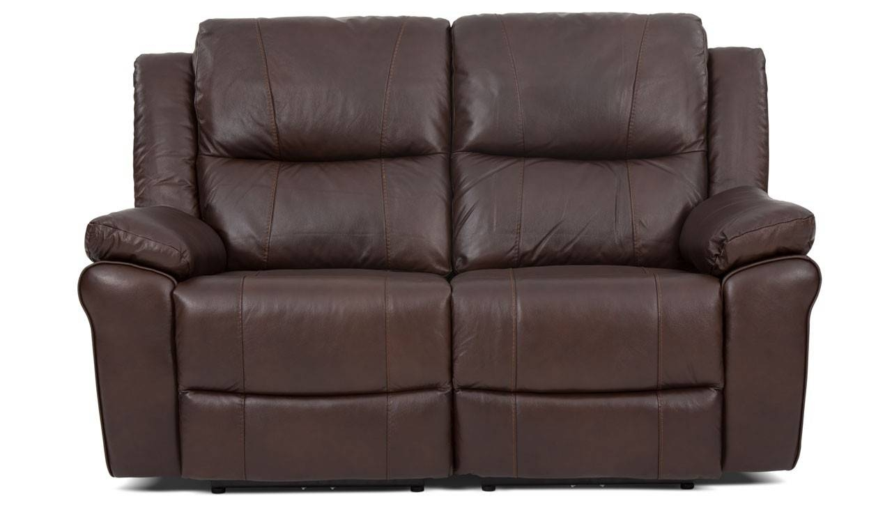 2 Seater Manual Recliner Sofa From The Derby Range | Ahf Furniture within 2 Seat Recliner Sofas (Image 3 of 30)
