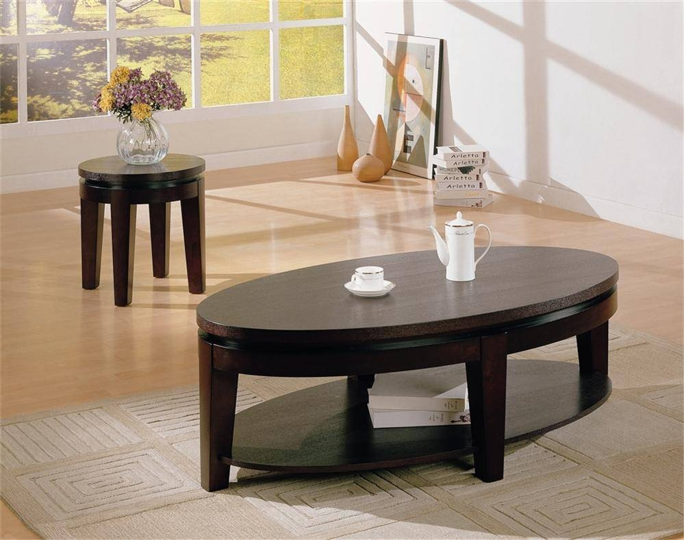 2 Tips In Maintaining The Beauty Of Oval Coffee Tables - Interior regarding Oval Shaped Coffee Tables (Image 2 of 30)