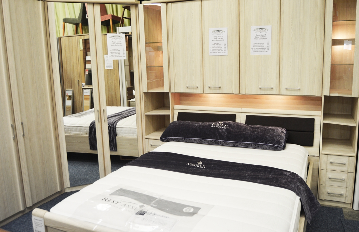 20% Off The Samos, Milos And Luxor 4 Semi-Fitted Wardrobe inside Over Bed Wardrobes Sets (Image 1 of 15)