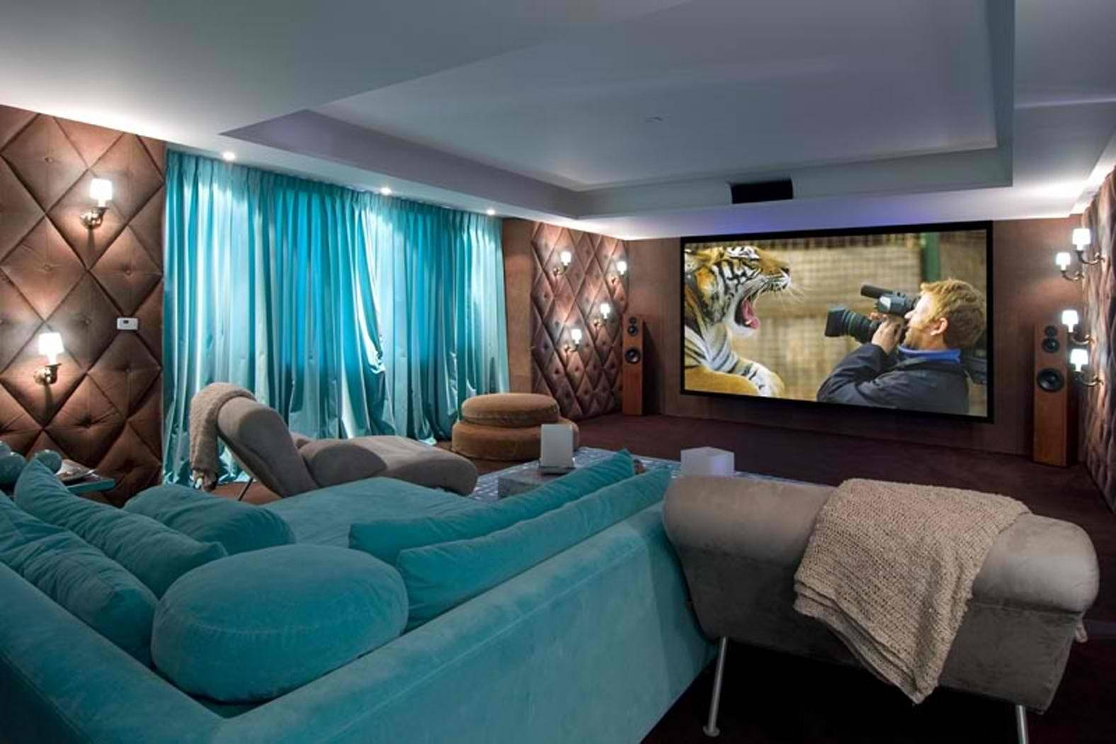 Featured Photo of Theater Room Sofas
