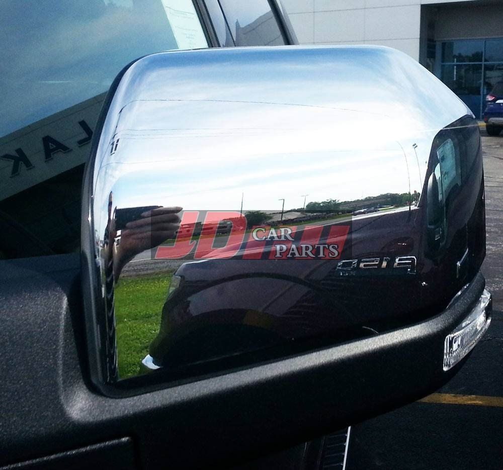 2016 Ford F150 F-150 F 150 Chrome Mirror Covers (2 Pieces Set) inside Chrome Mirrors (Image 1 of 25)