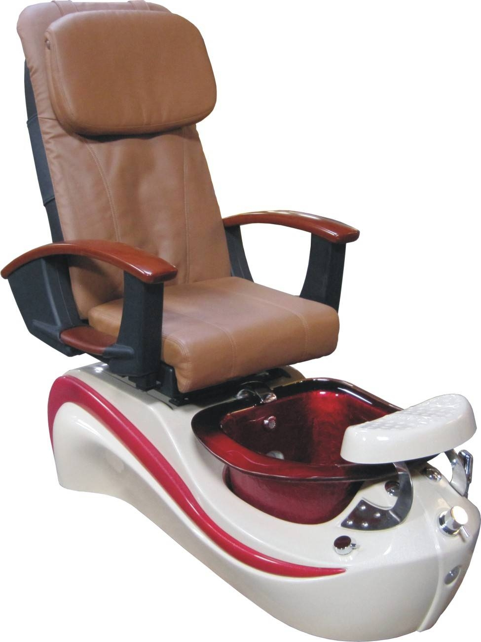2016 Wholesale Cappuccino Pu Leather Spa Chair,t4 Style Used regarding Foot Massage Sofa Chairs (Image 2 of 30)