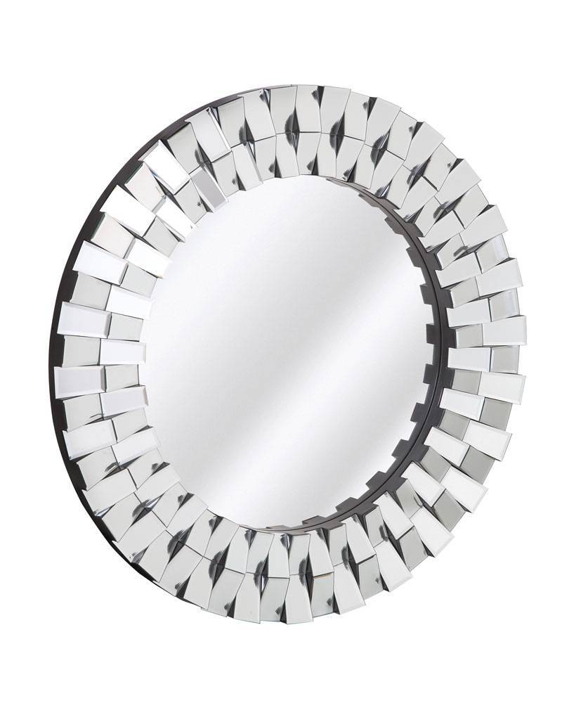 2051-P | Majestic Mirror & Frame with Designer Round Mirrors (Image 3 of 25)
