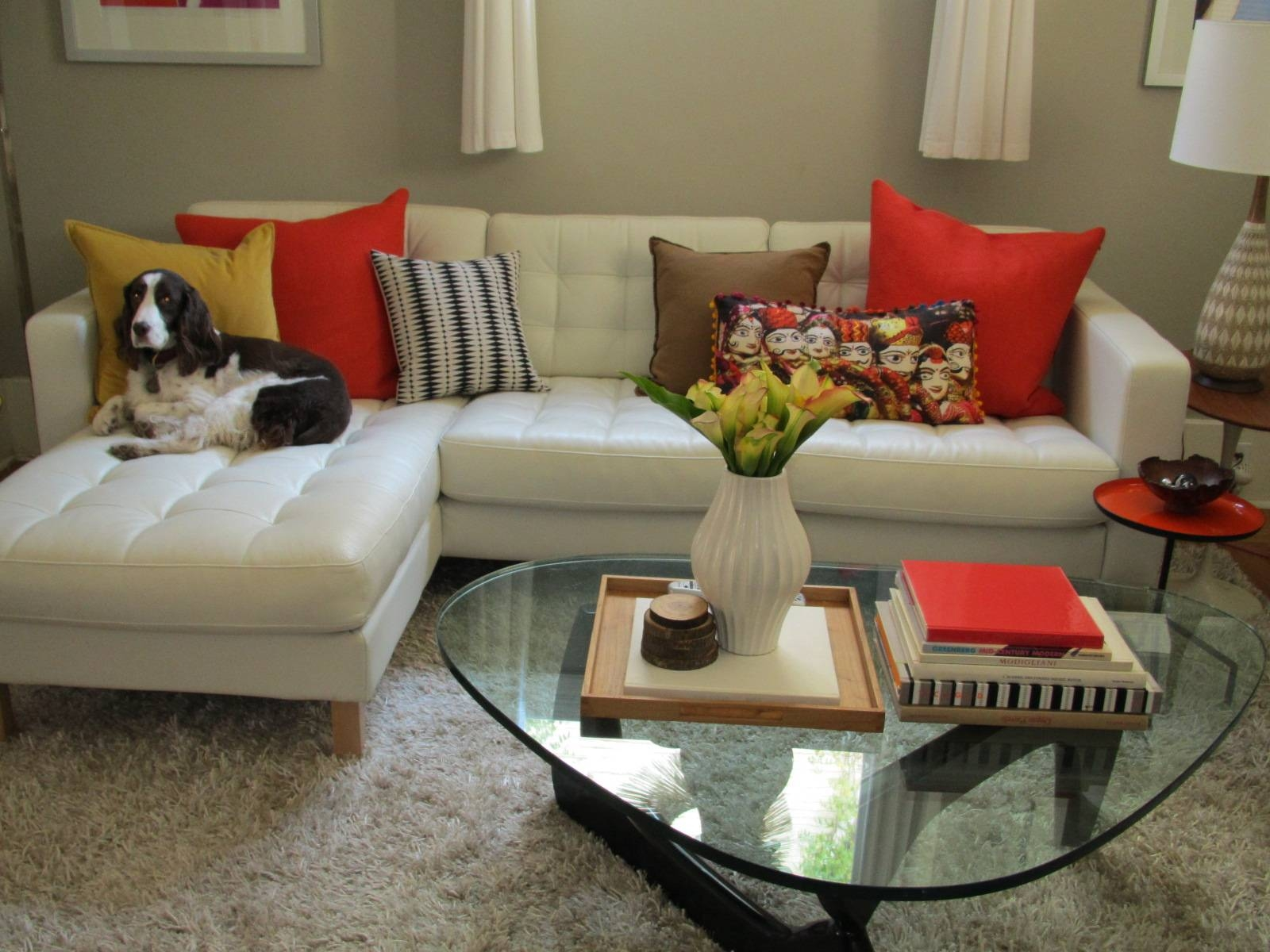 21 Cool Accent Pillows For Sofa - Inspirationseek in Black And White Sofas (Image 3 of 30)