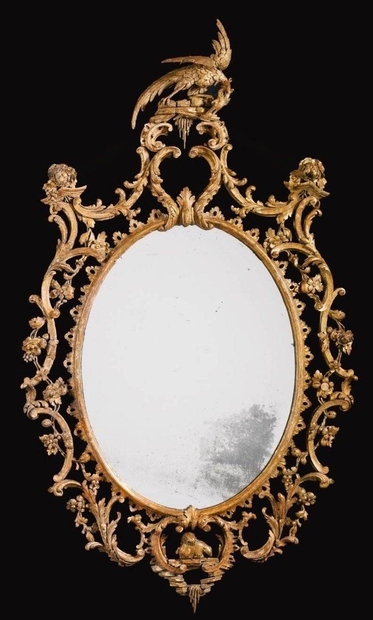 218 Best Antique Mirrors Images On Pinterest | Antique Mirrors In Antique Mirrors (View 14 of 25)