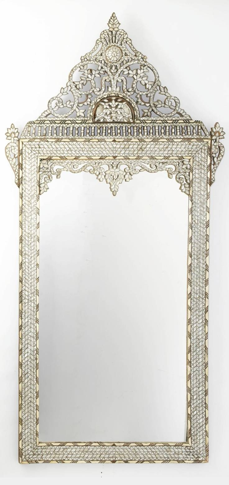 219 Best Mirrors Images On Pinterest | Mirror Mirror, Antique regarding Antique Arched Mirrors (Image 1 of 25)