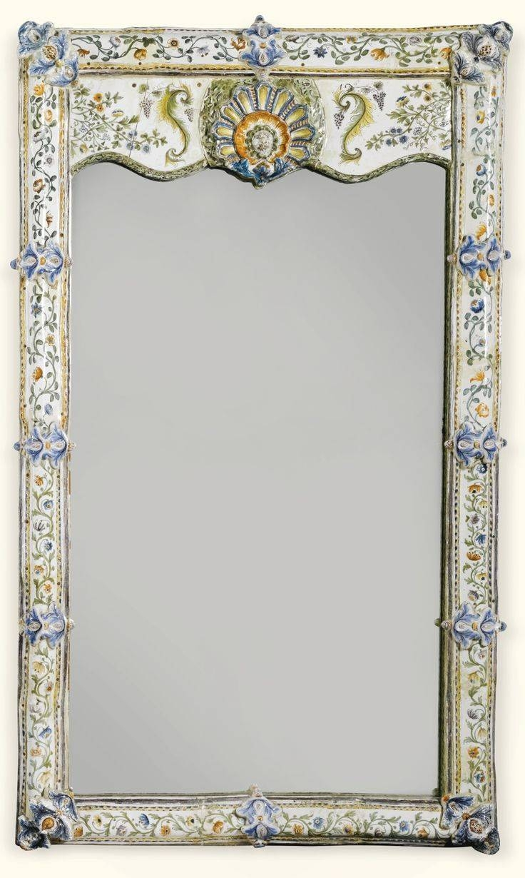 219 Best Mirrors Images On Pinterest | Mirror Mirror, Antique with Old Fashioned Mirrors (Image 2 of 25)