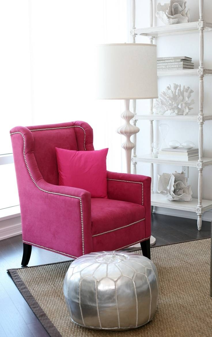 22 Best Furniture: Hot Pink Chairs Images On Pinterest | Pink for Heel Chair Sofas (Image 4 of 30)