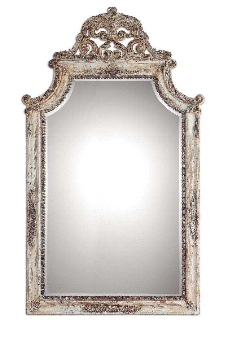 223 Best Mirrors Images On Pinterest | Wall Mirrors, Great Deals regarding Old French Mirrors (Image 2 of 25)