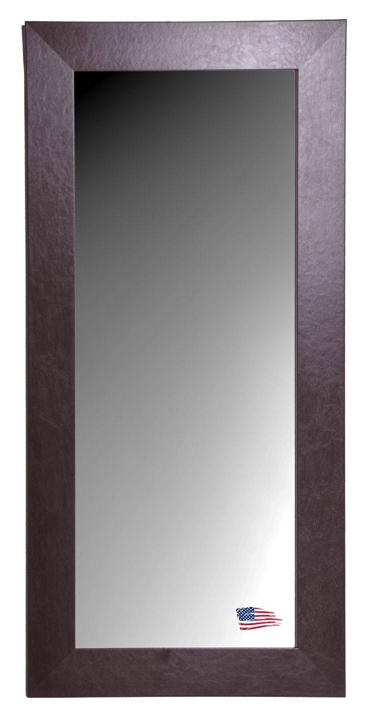 23 Best Over Size Mirrors, American Made Images On Pinterest in Leather Wall Mirrors (Image 6 of 25)