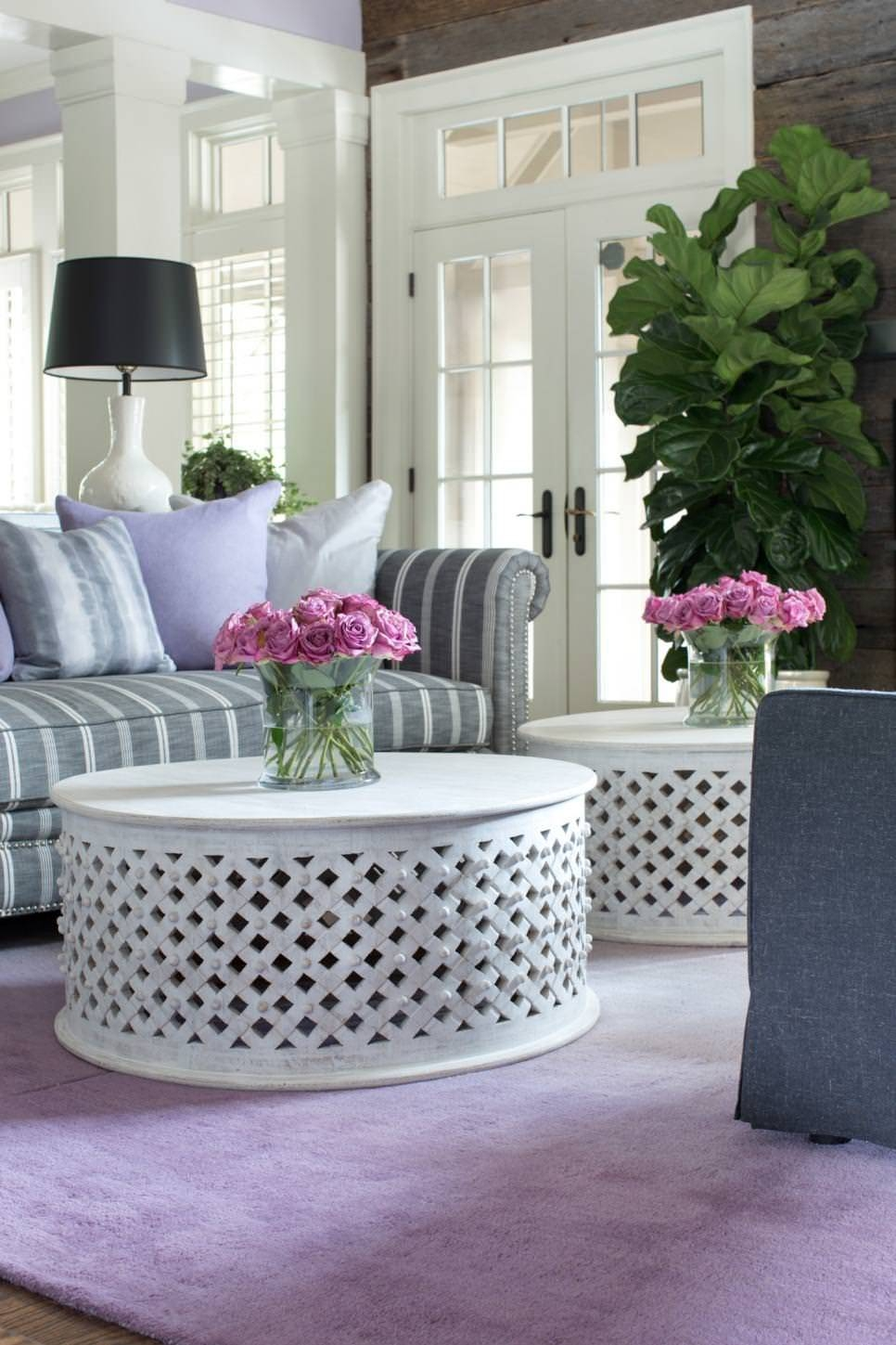 23+ Round Coffee Table Designs, Ideas, Plans | Design Trends pertaining to White Circle Coffee Tables (Image 1 of 30)
