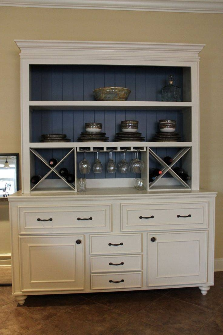 24 Best Diningroom Hutch Images On Pinterest | Wine Hutch, China with regard to White Sideboards With Wine Rack (Image 1 of 30)