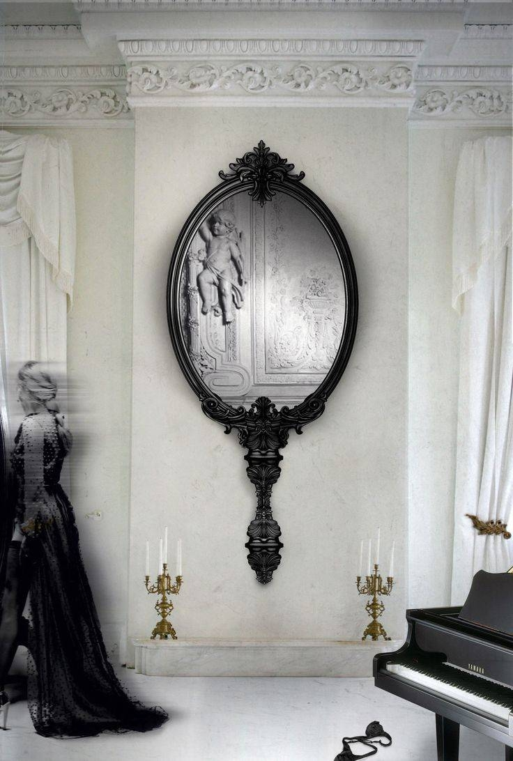 241 Best Mirror Wonderland Images On Pinterest | Mirror Mirror for Gothic Style Mirrors (Image 4 of 25)