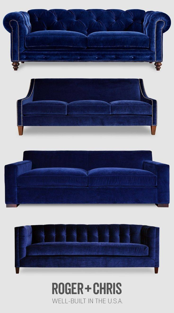 25+ Best Blue Couches Ideas On Pinterest | Navy Couch, Blue Sofas intended for Blue Sofa Chairs (Image 2 of 30)