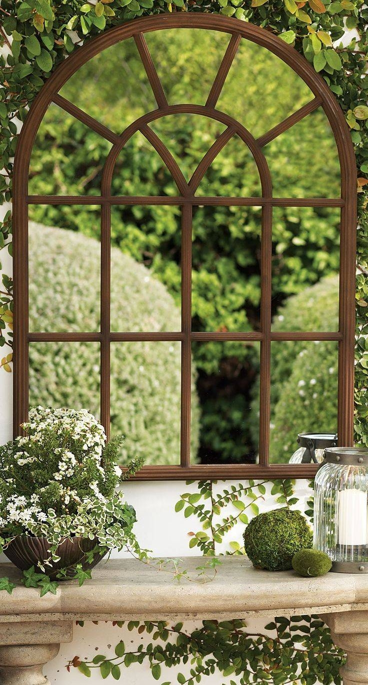 25+ Best Garden Mirrors Ideas On Pinterest | Outdoor Mirror, Small inside Garden Window Mirrors (Image 1 of 25)