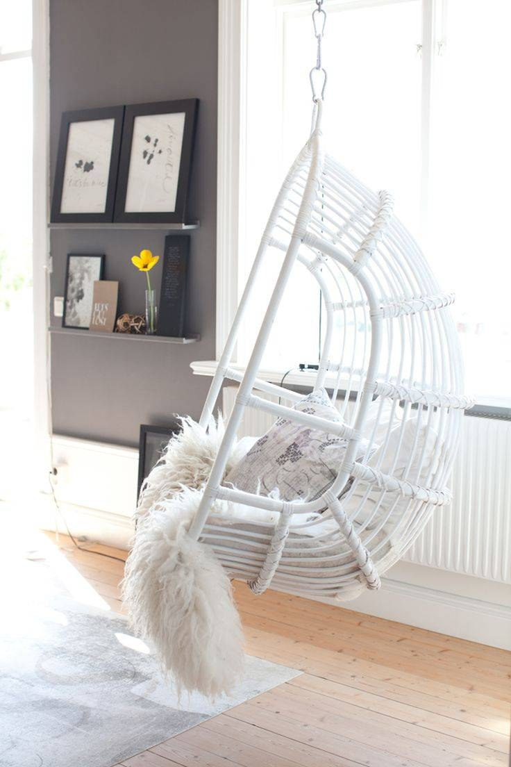 25+ Best Hanging Chairs Ideas On Pinterest | Hanging Chair, Indoor for White Cane Sofas (Image 2 of 30)