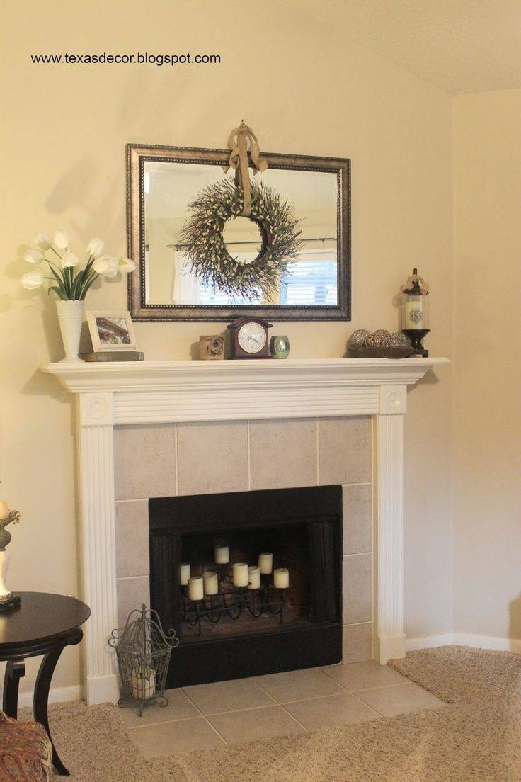 25+ Best Mirror Above Fireplace Ideas On Pinterest | Fake inside Mirrors for Mantle (Image 1 of 25)
