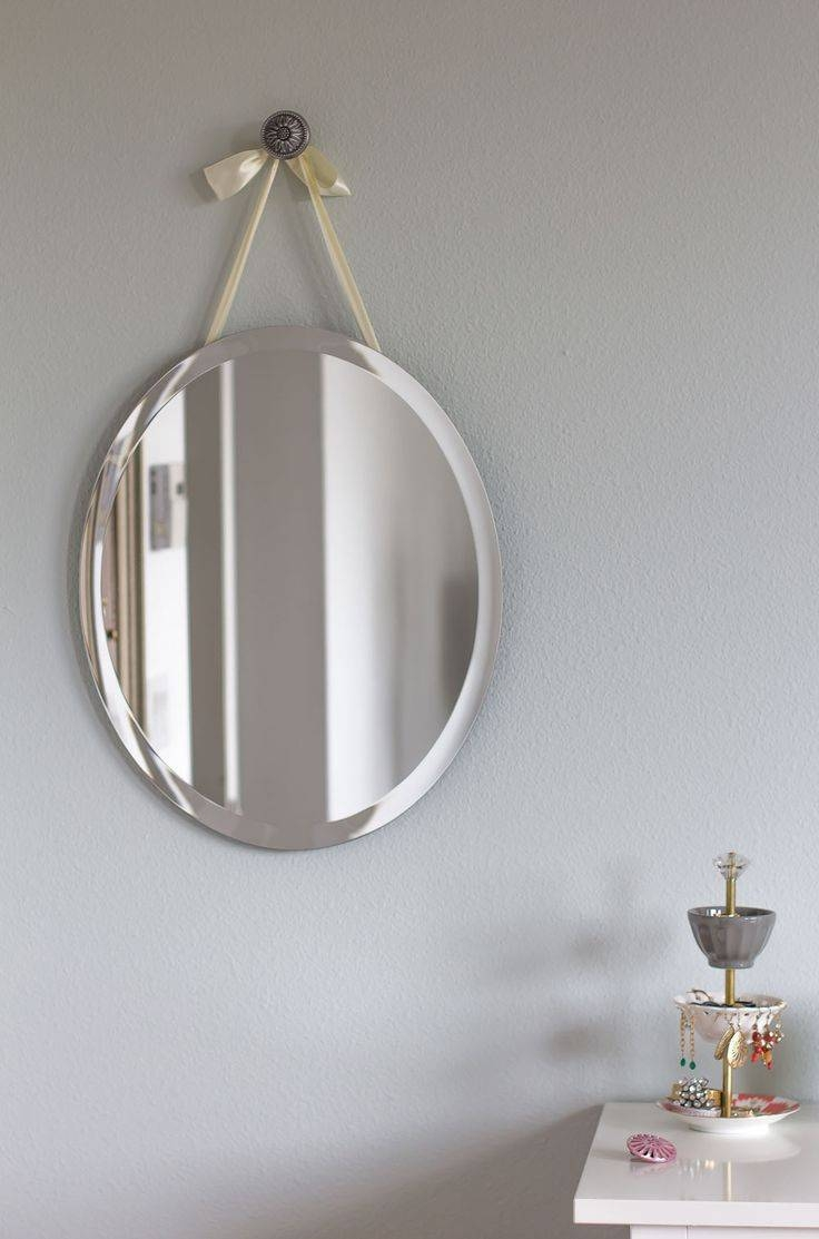 25+ Best Mirror Hanging Ideas On Pinterest | Small Bathroom pertaining to Odd Shaped Mirrors (Image 2 of 25)