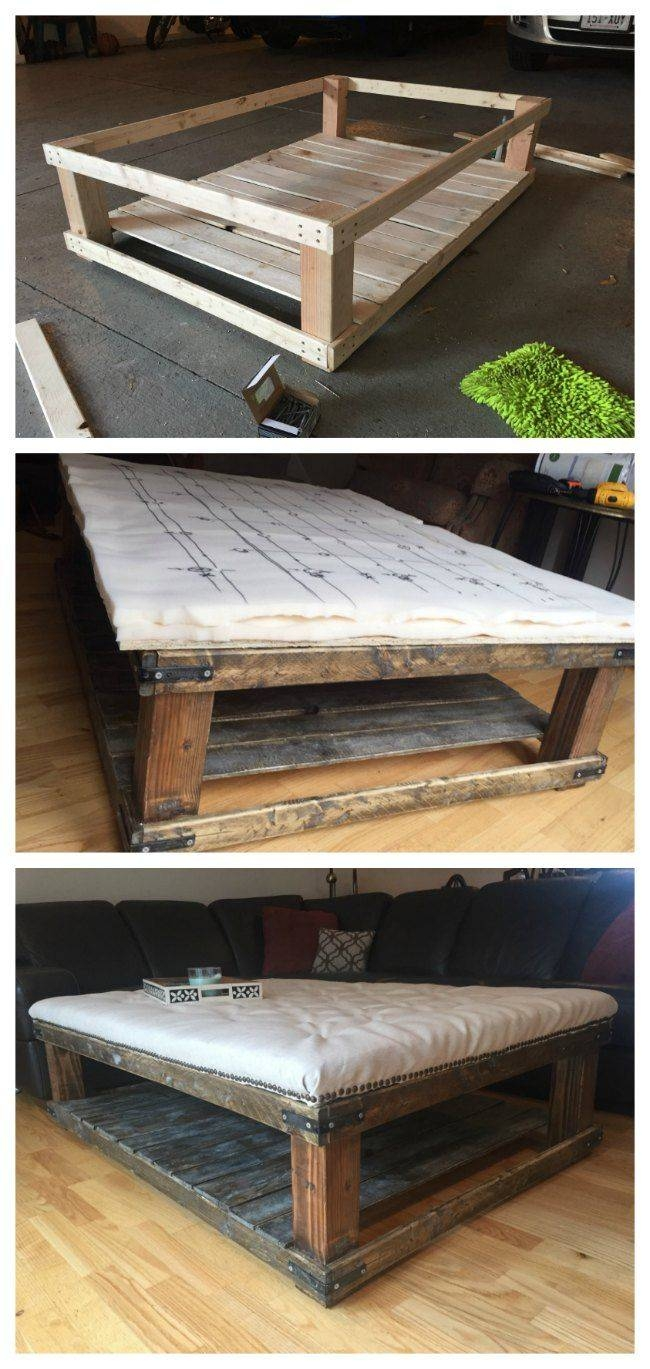 25+ Best Oversized Coffee Table Ideas On Pinterest | Oversized within Rustic Coffee Tables With Bottom Shelf (Image 1 of 30)