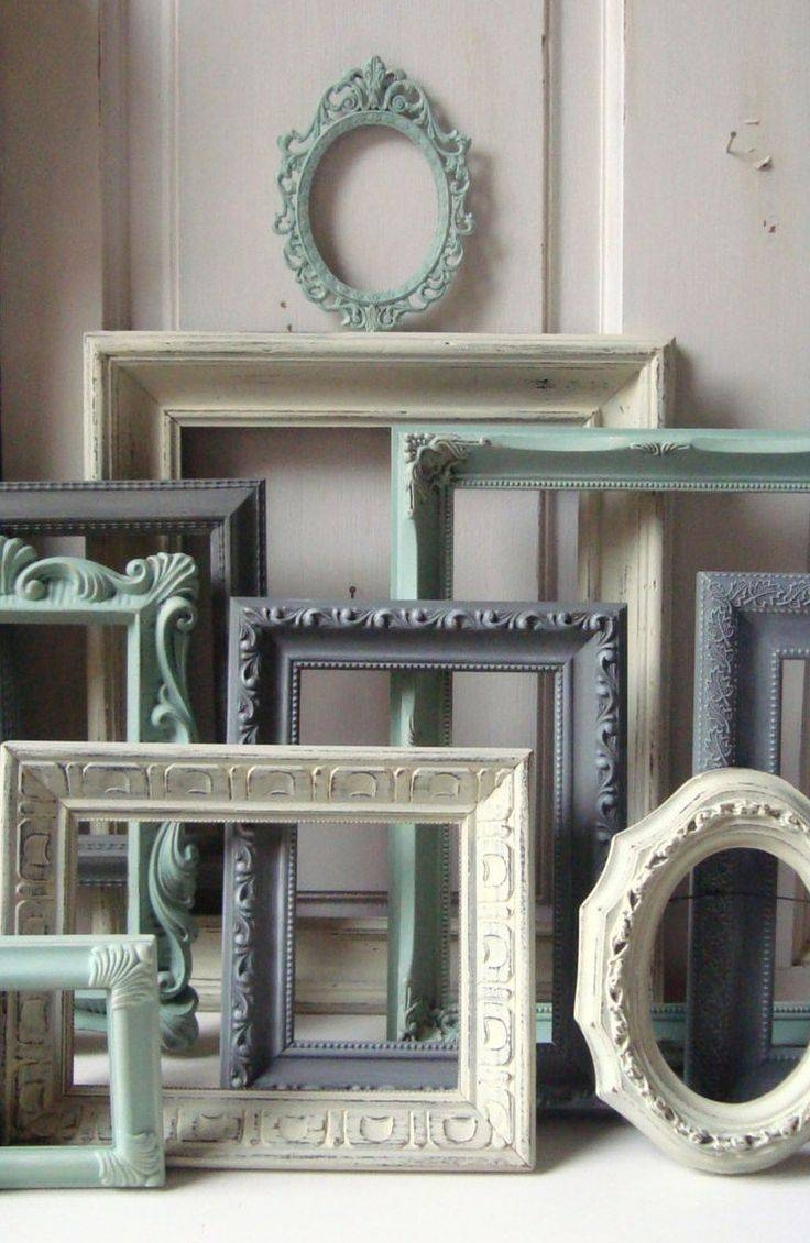 25+ Best Painted Mirror Frames Ideas On Pinterest | Painting A with Bright Coloured Mirrors (Image 5 of 25)