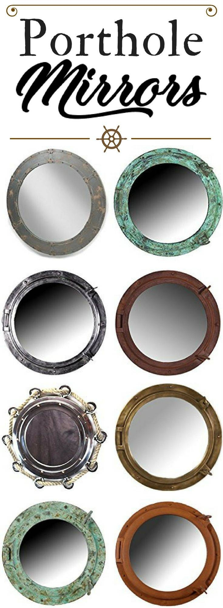 25+ Best Porthole Mirror Ideas On Pinterest | Nautical Mirror For Chrome Porthole Mirrors (View 1 of 25)
