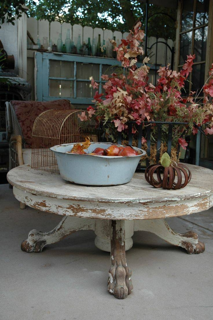 25+ Best Round Coffee Tables Ideas On Pinterest | Round Coffee Regarding  Large Low Rustic