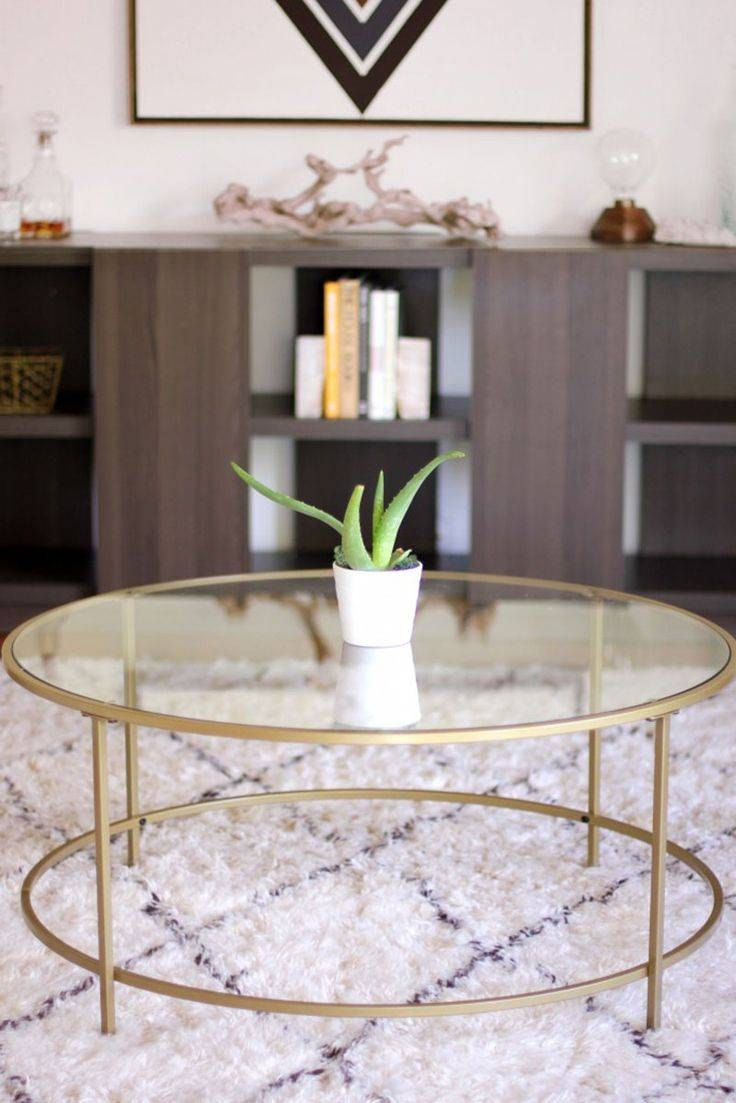 25+ Best Round Coffee Tables Ideas On Pinterest | Round Coffee within All Glass Coffee Tables (Image 1 of 30)