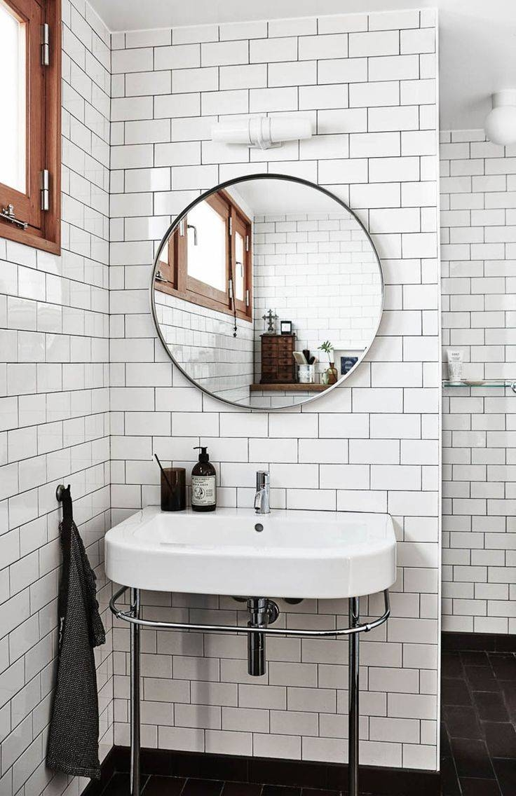 25+ Best Round Mirrors Ideas On Pinterest | Small Round Mirrors within Vintage Style Bathroom Mirrors (Image 2 of 25)