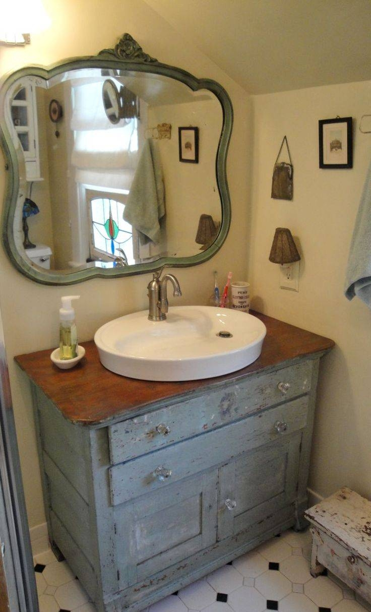 25+ Best Vintage Bathroom Sinks Ideas On Pinterest | Vintage with regard to Vintage Style Bathroom Mirrors (Image 3 of 25)
