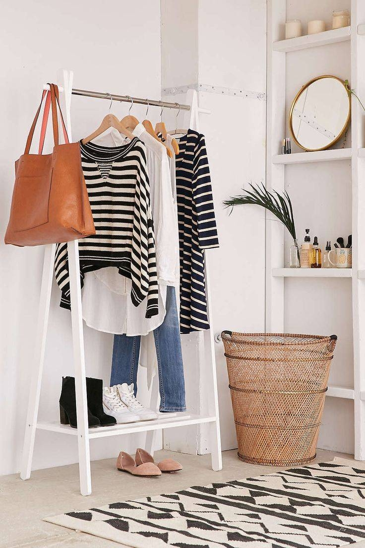 25+ Best Wardrobe Rail Ideas On Pinterest | Modern Clothes Racks intended for Double Black Covered Tidy Rail Wardrobes (Image 1 of 30)