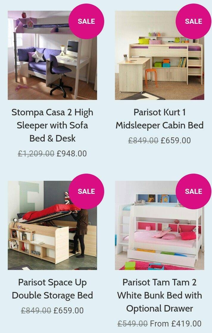 26 Best Highsleeper Loft Beds Images On Pinterest | Loft Beds intended for High Sleeper With Desk And Sofa Bed (Image 1 of 30)